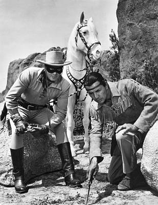 The Lone Ranger And Tonto Print by Underwood Archives