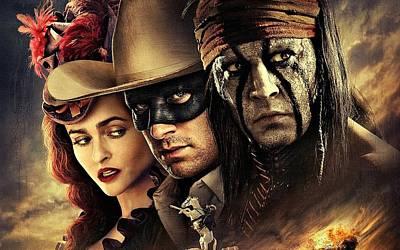 Johnny Depp Digital Art - The Lone Ranger by Movie Poster Prints