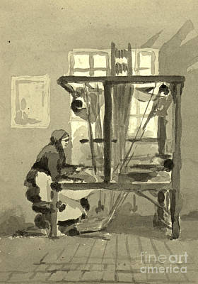Handloom Photograph - The Loom 1872 by Padre Art