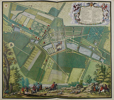 Cartography Photograph - The Lordship Of Rosendael by British Library