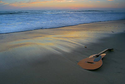 Guitar Photograph - The Lost Song by Adam West