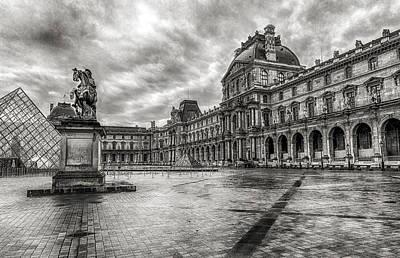 The Louvre 2 Print by Bruce Ingwall