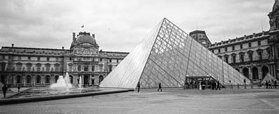 The Louvre  Print by Steven  Taylor