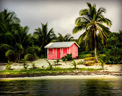 Fishing Shack Photograph - The Love Shack by Karen Wiles