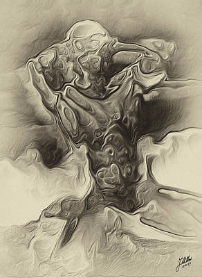 Imaginary Lover Print by Joaquin Abella