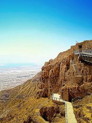 The Machabees And Their Masada Original by Sandra Pena de Ortiz