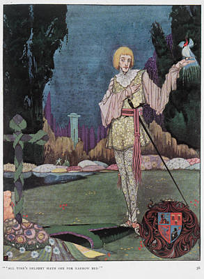 The Mad Prince Print by British Library