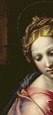 The Madonna Print by Raphael