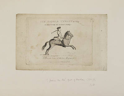 East India Photograph - The Madras Tyrant by British Library