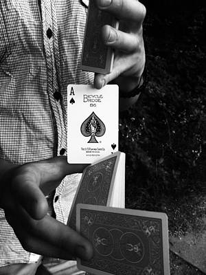 Photograph - The Magic Card by Lucy D