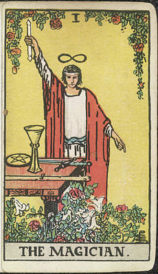 Religious Art Photograph - The Magician by British Library
