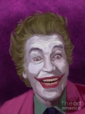 Riddler Painting - The Man Who Laughs by Jeremy Nash