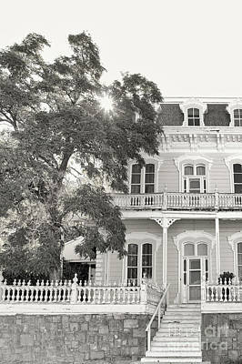 Sun Porch Photograph - The Mansion by Margie Hurwich