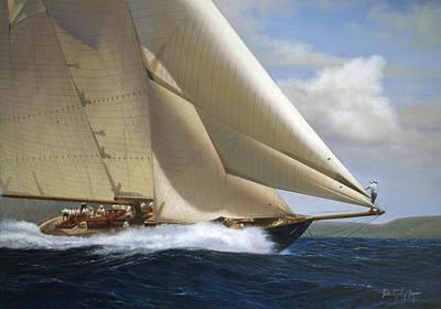 J Boat Painting - The Marietta by Julia O'Malley-Keyes