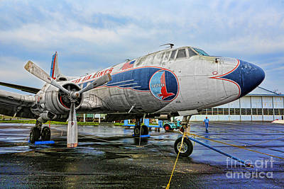 The Martin 404 - Eastern Airlines Print by Lee Dos Santos