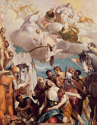 Martyrdom Painting - The Martyrdom Of Saint George by Veronese