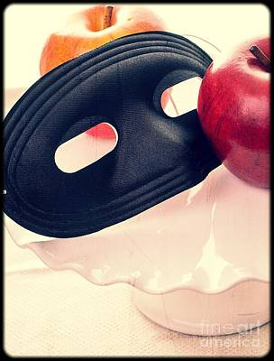 Apple Photograph - The Mask by Edward Fielding