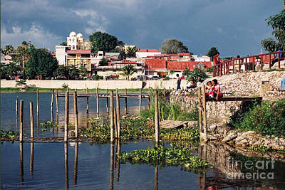 The Mayan Isle Of Flores - Peten Guatemala Print by Gerald MacLennon