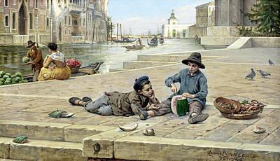 The Mellon Seller Print by Antonio Paoletti