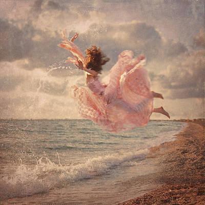 Levitation Photograph - The Mermaid by Anka Zhuravleva