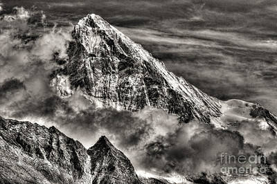 Blanche Photograph - The Mighty Dent Blanche Switzerland by Colin Woods