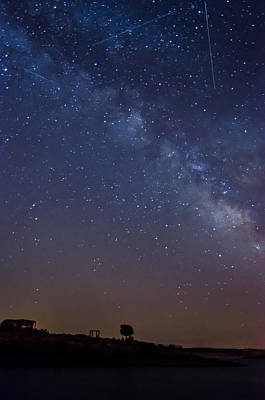 Alqueva Photograph - The Milky Way In The Lake by Alexandre Martins