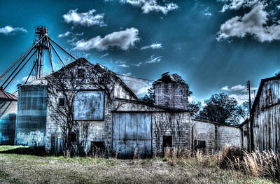 Feed Mill Photograph - The Mill by Mark Lindsey