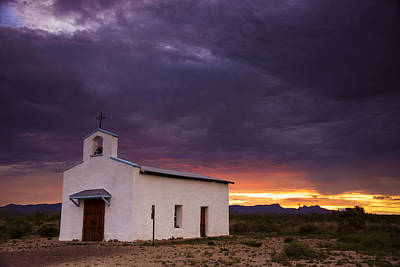 Spirits Photograph - The Mission Trail by Aaron S Bedell