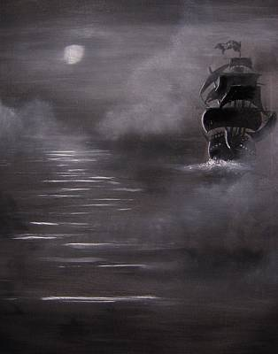 The Mist Print by Eugene Budden