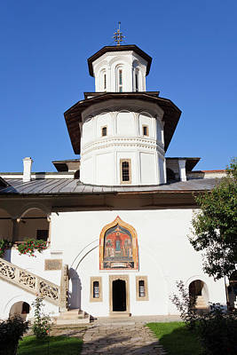 Romania Photograph - The Monastery Of Horezu (hurezi, Horez by Martin Zwick