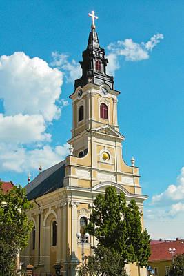 Romania Photograph - The Moon Church In Oradea - Romania by Vlad Baciu