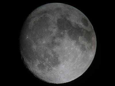 Photograph - The Moon  by George Leask