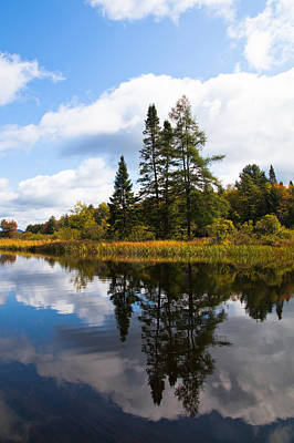 Lake Photograph - The Moose River - Old Forge Ny by David Patterson
