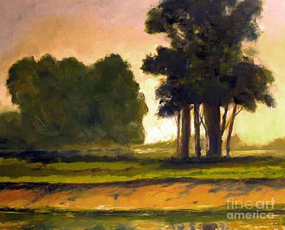Morel Painting - The Morel Oak by Charlie Spear