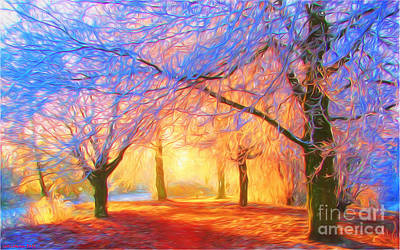 Multicolor Painting - The Morning Light by Veikko Suikkanen