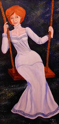 Swing Painting - The Morning Stars by Patrick Lynch