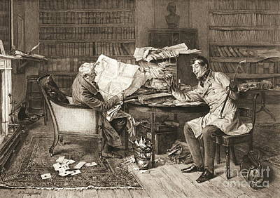 The Mortgage 1899 Print by Padre Art