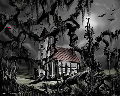 The Mortuary Original by James Christopher Hill