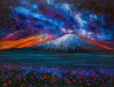 The Mountain Of Memories Original by Salavat Fidai