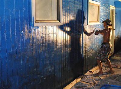 The Muralist Original by Jim Newman