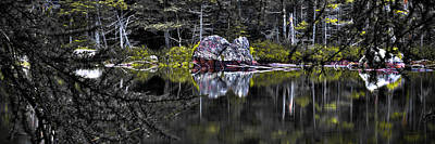 Hdr Photograph - The Mystique Of Sis Lake by David Patterson