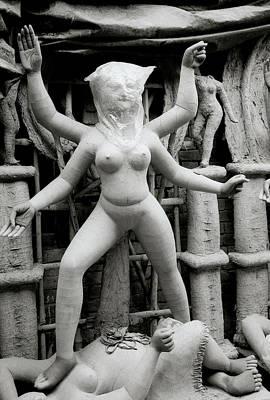 Goddess Durga Photograph - The Naked Goddess by Shaun Higson