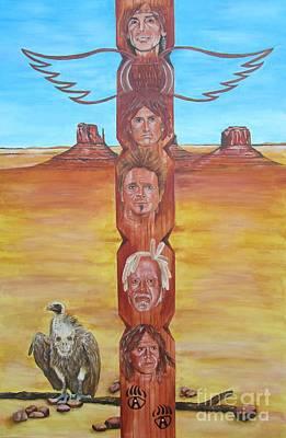 The Native Rockband Print by Jeepee Aero