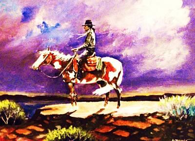 The Navajo Print by Al Brown