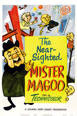 The Nearsighted Mister Magoo, Us Poster Print by Everett