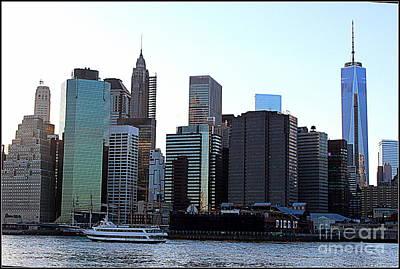 The New New York City's Skyline Original by Dora Sofia Caputo Photographic Art and Design