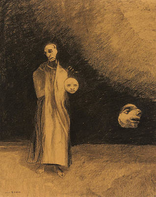 The Nightmare Print by Odilon Redon