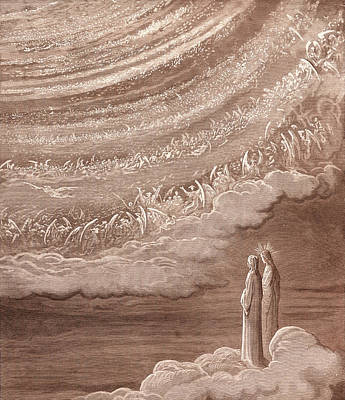 The Ninth Heaven Print by Gustave Dore