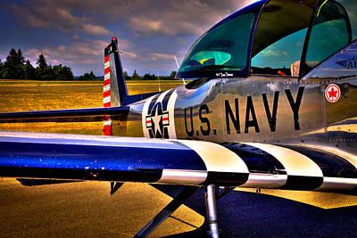 The North American L-17 Navion Aircraft Print by David Patterson