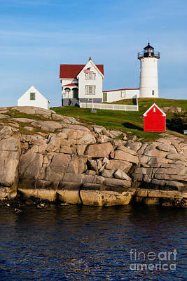 The Nubble York Maine Print by Dawna  Moore Photography